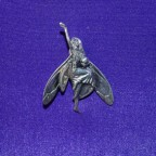 Fairy dancing with orb pendant