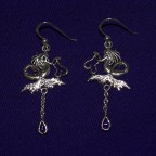 Dark Water Fairy Earrings