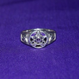 The Druid's Amulet Silver Ring
