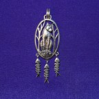 Wolf Silver Pendant