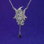 Evening Angel Silver Necklace