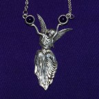 Angel on High Necklace