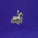Horse By Fence Pendant