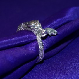 Dragon Silver Ring