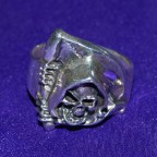 Reaper Silver Ring