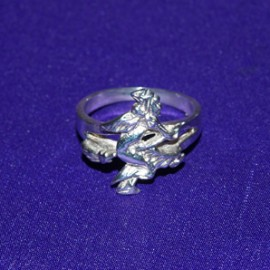 Witch Silver Ring