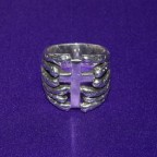 Gothic Jap Silver Ring