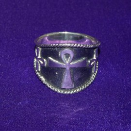 Ankh Silver Ring