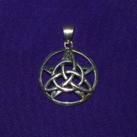 The Druid's Amulet Silver Pendant