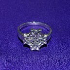 Celtic Knot Cross Silver Ring