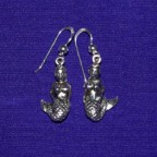 Sea Mistress Silver Earring