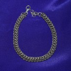 Rope Chain Silver Bracelet