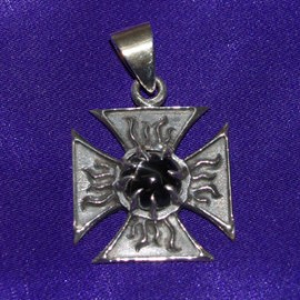 Gothic Silver Pendant