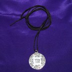 Kabbalah Virgo Silver Necklace