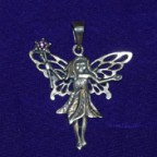 Magic Fairy Silver Pendant