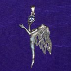 Fairy Princess Silver Pendant
