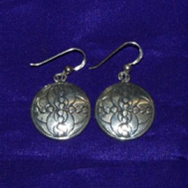 Energy Silver Earrings