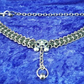 Pentacle and stainless steel ball choker