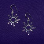 Flaming Sun Earrings